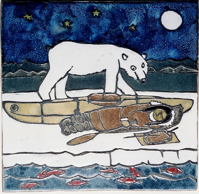 Inupiaq homage to Henri Rousseau