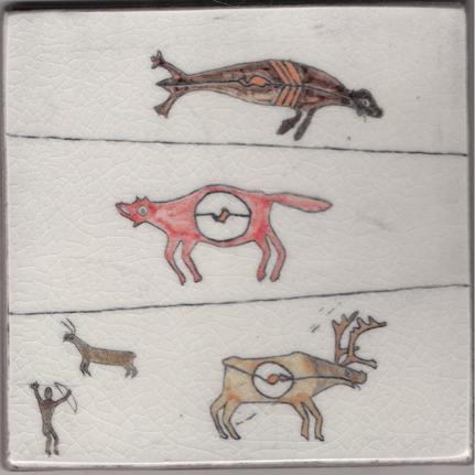 Seal, Fox, Caribou