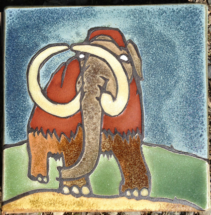 Two Mammoth Tiles