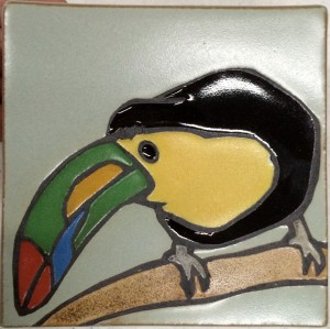 Toucan Art Tile
